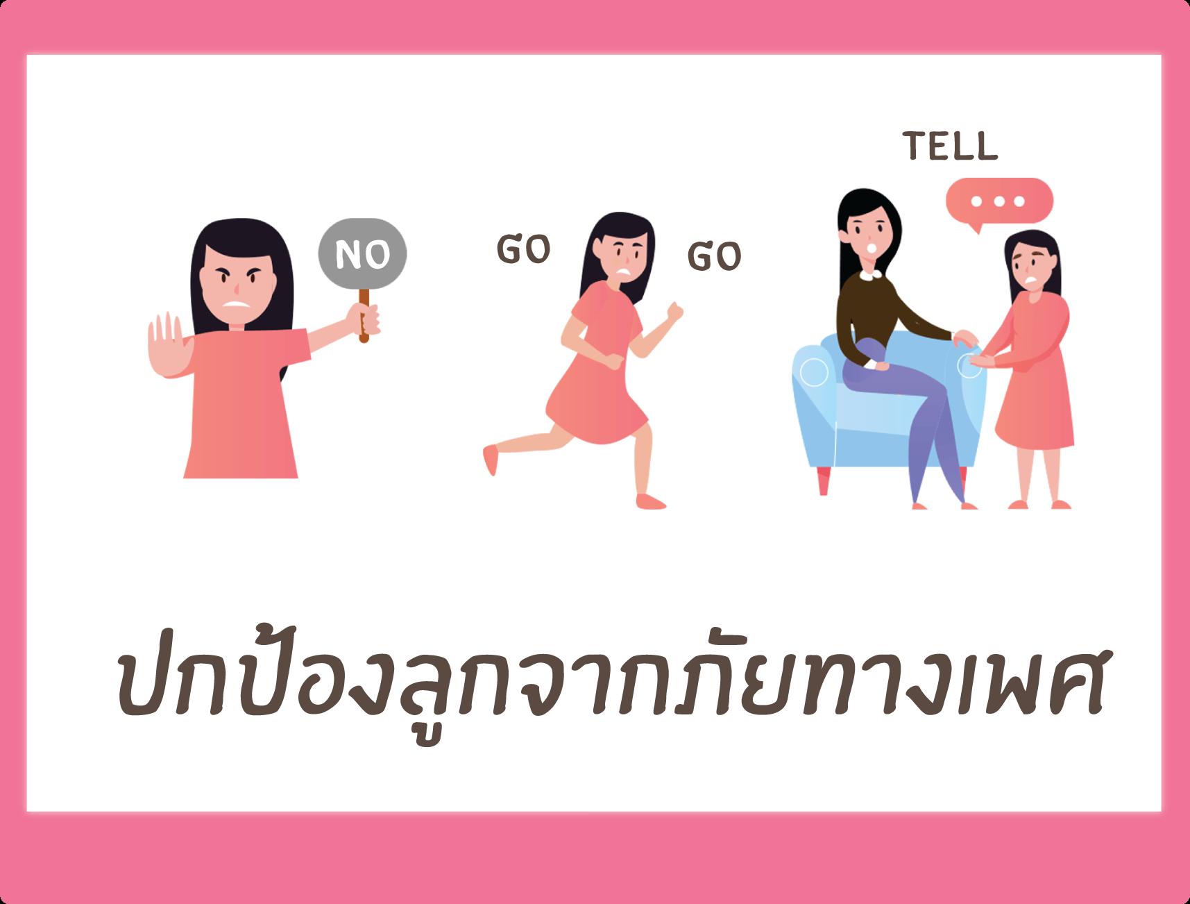 Info graphic ปกป้องลูกจากภัยทางเพศ