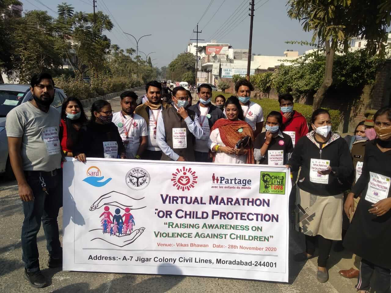 Partage RISE : Run for child protection